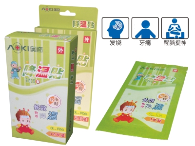 Children cooling paste